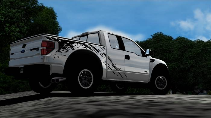 Ford F150 SVT Raptor Physic and Sound