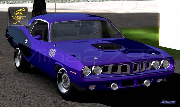 Miha2795: 1971 Plymouth Hemi Cuda 426 Without Spoiler