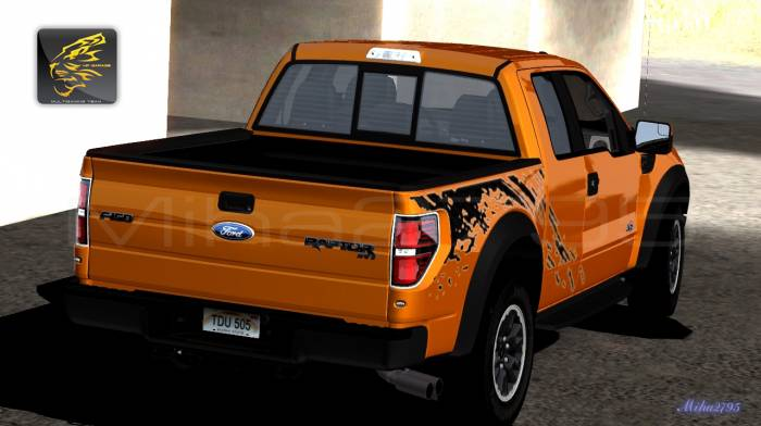 Miha2795: 2011 Ford F-150 SVT Raptor Without Boot