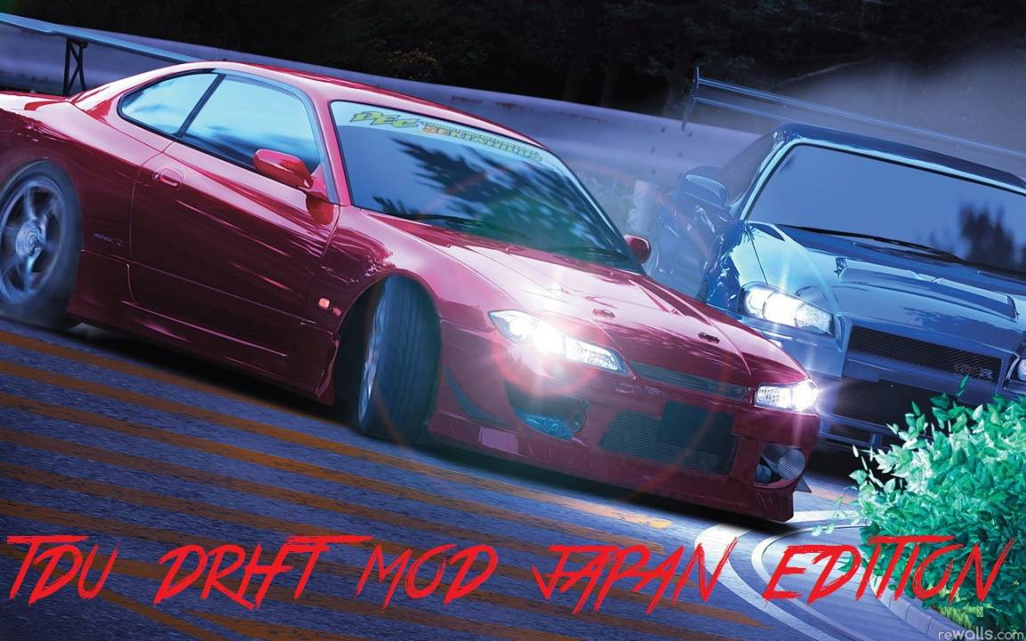 TDU Drift MOD Japan edition
