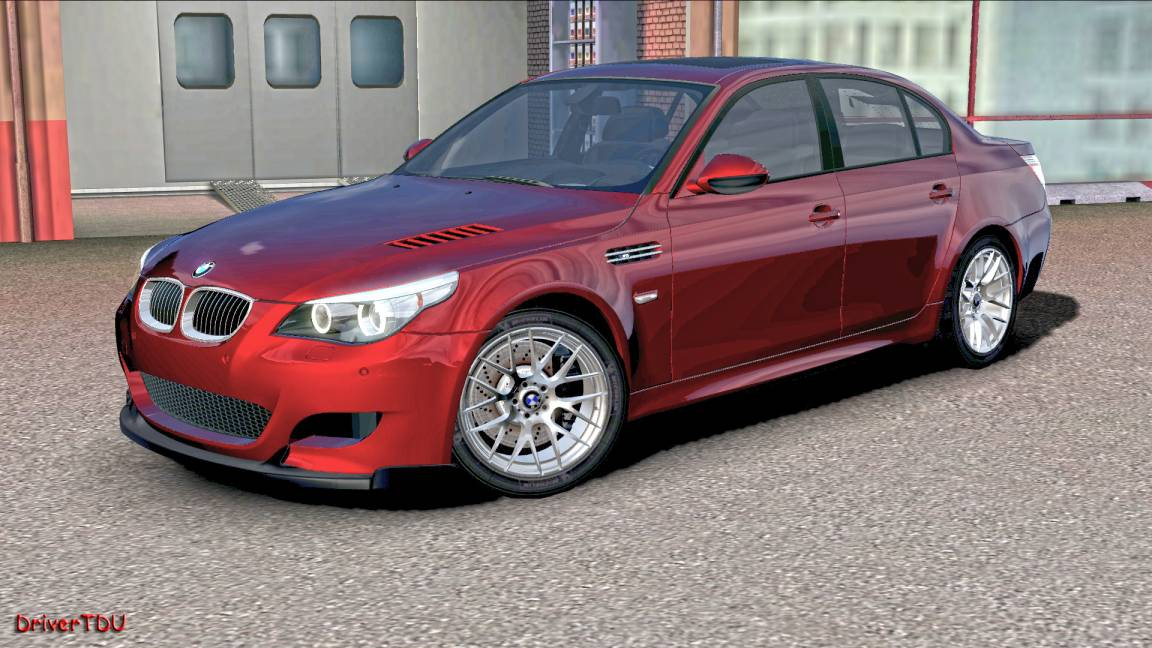 DriverTDU: 2009 BMW M5 E60 + M5 Performance