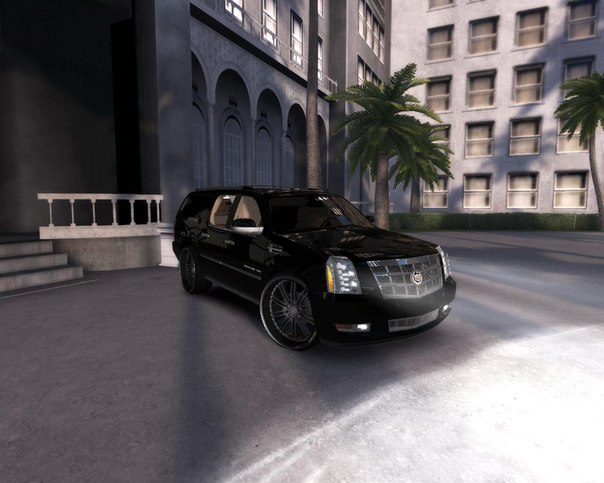CADILLAC ESCALADE PLATINUM ESV BUSINESS PARLOR