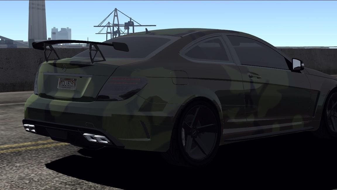 Mercedes benz c 63 amg black series armi london mercedes amg tdu hf - Mercedes benz garage london ...