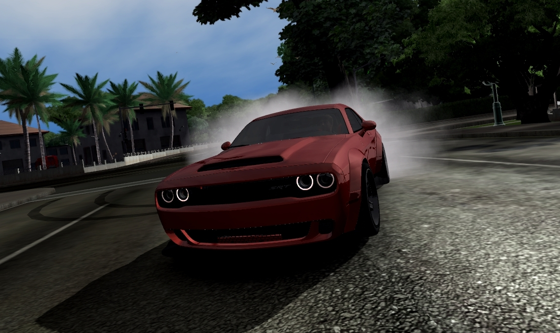 Dodge Challenger Demon phisic by MurakamiM+sound