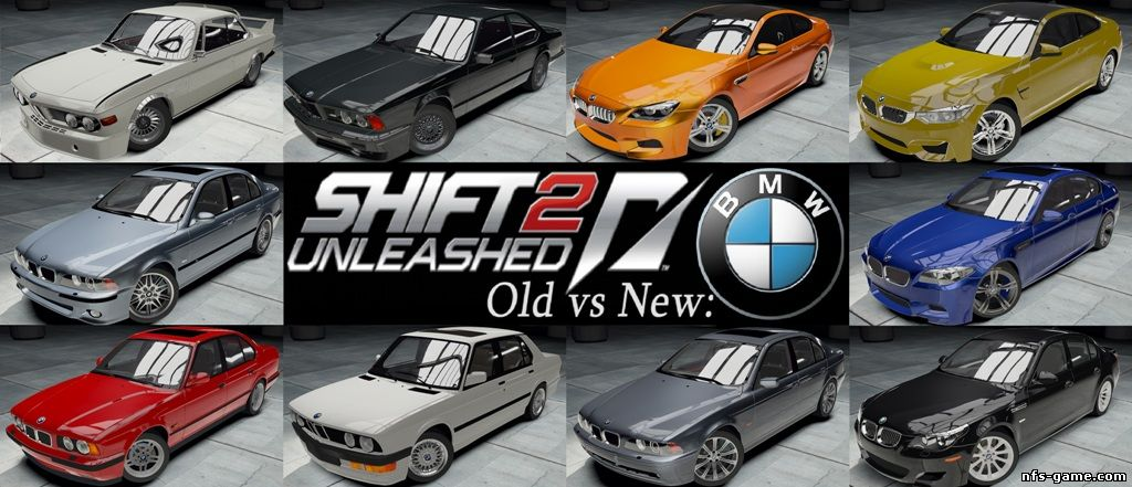 Old vs New - BMW Pack