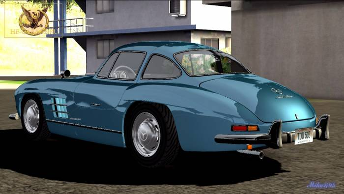 Miha2795: 1954 Mercedes 300SL Gullwing Coupe