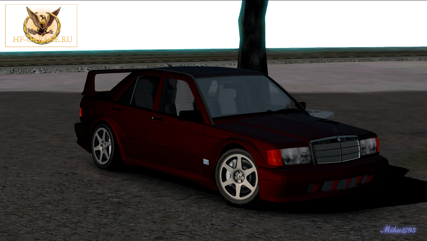 Miha2795: Mercedes-Benz 190 E 2.5-16 Evolution II