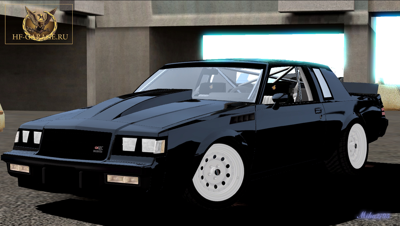 Miha2795: 1987 Buick Regal GNX Drag