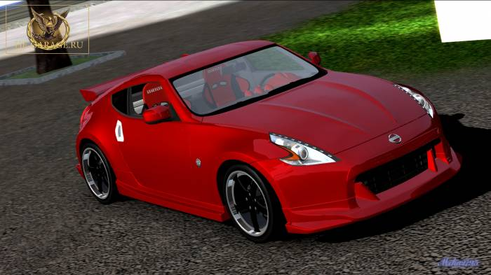 Miha2795: Nissan 370Z Extreme Dimensions N Body Kit'2010