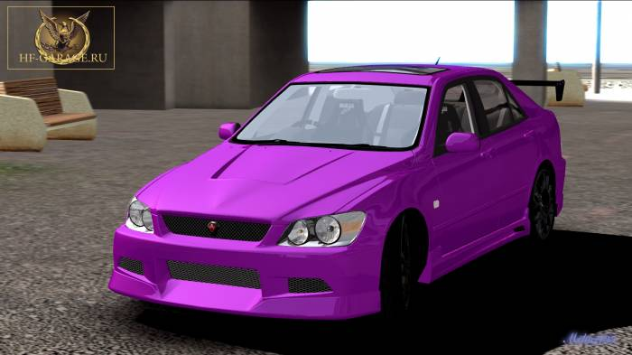 Miha2795: 2004 Toyota Altezza RS200 Extreme Dimensions C-1
