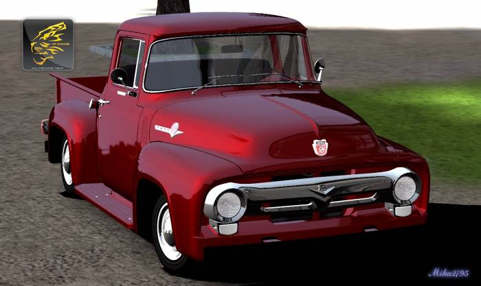 Miha2795: 1956 Ford F-100 Custom Cab