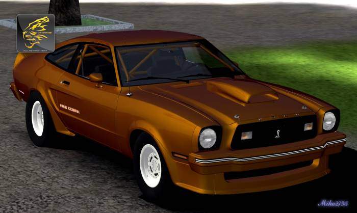 Miha2795: 1978 Ford Mustang II King Cobra Drag
