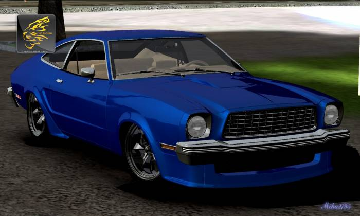 Miha2795: 1978 Ford Mustang II King Cobra Custom